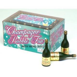 Champagne Bottle Bubbles Box 24