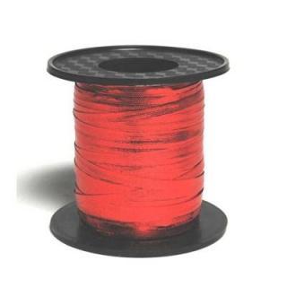 Red 225M metallic curling ribbon