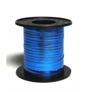 Blue 225M metallic curling ribbon