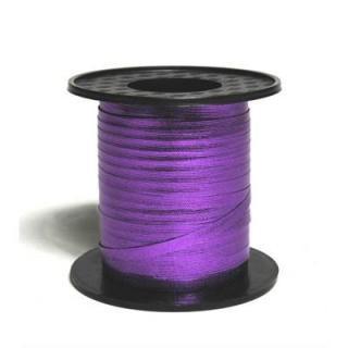 Purple 225M metallic curling ribbon