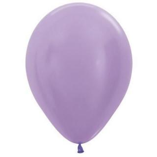 Pearl Lilac 12cm Balloons P100