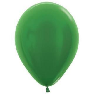 Metallic Emerald Green 12cm Balloons P100