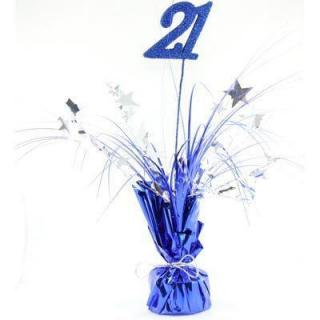 Number 21 Blue with Silver P1