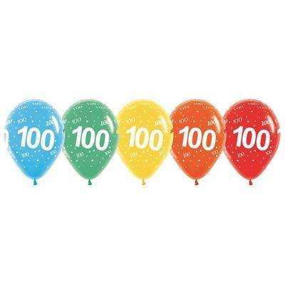 Milestone Birthday Latex Balloon Bouquet