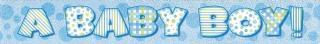 BABY BOY PRISM BANNER 12ft
