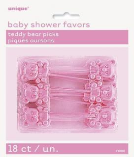 Pink Teddy Bear Picks P18