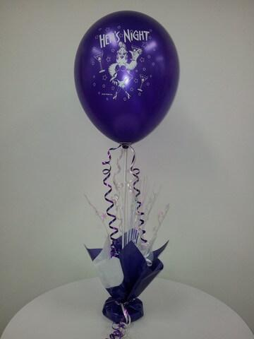 Balloon on Stick with Spray