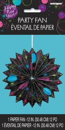 """STELLAR NEW YEAR ACCORDIAN DEC30cm (12"""")"""