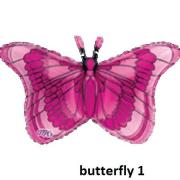 Super Shape Butterflies Balloon